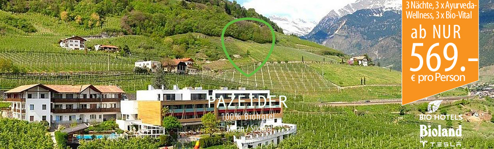 Ayurveda-Wellness in Meran im Südtirol