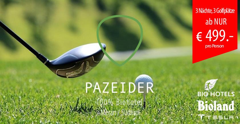 Kurzurlaub & Wellness für Golf-Liebhaber